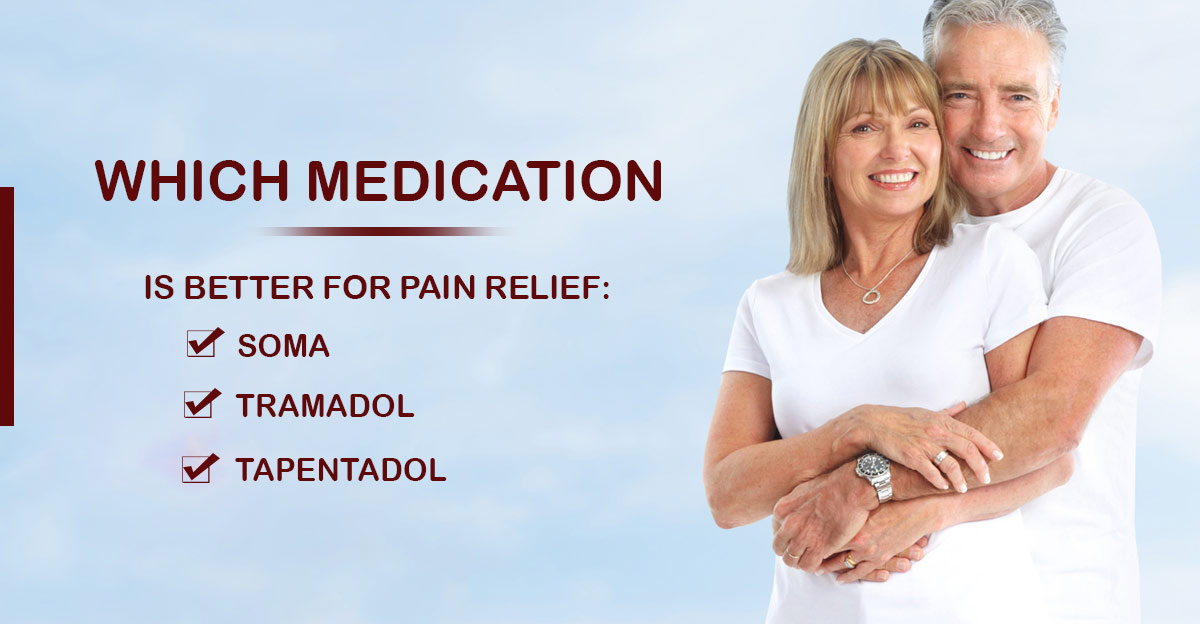 Which med should you take for pain relief: Tramadol, Tapentadol & Soma?