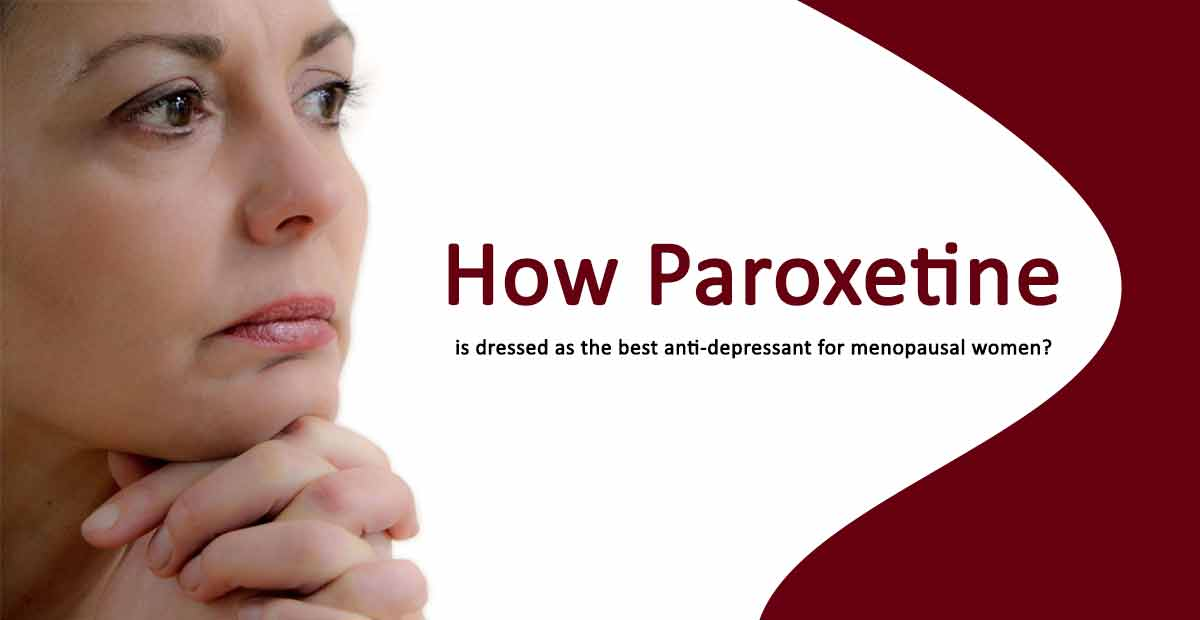 paroxetine for menopausal women